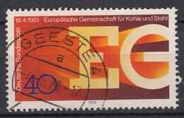BUND - Michel - 1976 - Nr 880 - Gest/Obl/Us - [7] République Fédérale