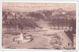 LYON.- Place De La Tête D'Or.- Monument Des Enfants Du Rhône.- Pont De La Boucle.- Côteau St-Clair. - Lyon
