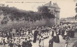 Loire-Atlantique - Guérande - Fête-Dieu 1909 - Le Défilé De La Procession Sur Le Mail - Guérande