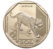 PERU 2018 , Jaguar 1 Sol , Uncirculated - Perú