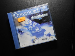 Dreamcast  SnoCross - Gebraucht - Mit Handbuch - PC-Spiele