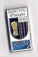Pin's LA VOIX DU NORD - ST POL SUR TERNOISE - BLASON - Médias