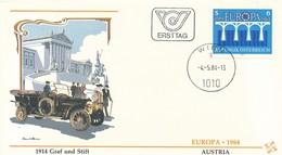 AUTRICHE - EUROPA - 1984 - Europa-CEPT