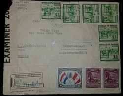 O) 1939 PARAGUAY, PEACE CONFERENCE-BUENOS AIRES-PRESIDENT BENAVIDES, DR JOSE FRANCIA-DICTADOR SCT 383 50c, COWBOYS SCT 3 - Paraguay