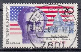 BUND - Michel - 1976 - Nr 895 - Gest/Obl/Us - [7] République Fédérale