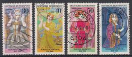 BUND - Michel - 1976 - Nr 908/11 - Gest/Obl/Us - [7] République Fédérale
