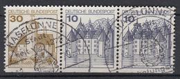 BUND - Michel - 1977 - Nr 914D + 913D (x2) - Gest/Obl/Us - [7] République Fédérale