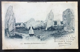 CPA 56 CARNAC - Menhirs De Kermario - Hamonic 105 Précurseur Botrel - Réf. C 128 - Carnac