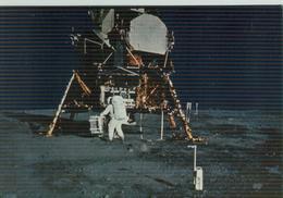 """""""LA CORSA ALLA LUNA"""",COLORI, SOGGETTO STORICO DELL'UOMO SULLA LUNA, VIAGGIATA IN BUSTA,ERINNOFILI CAMPAGNA ANTITUBERCOLA - Astronomia"""