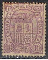 (E 519) ESPAÑA // YVERT 4 IMPOTS DE GUERRE  // EDIFIL 155 // 1875 - Impuestos De Guerra