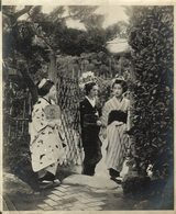 JAPON JAPANESES EN VINK Asia Asie Fonds Victor FORBIN (1864-1947) - Lugares