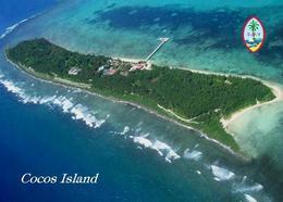 Guam Cocos Island Aerial View New Postcard - Guam