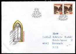 CZECHOSLOVAKIA 1991 Bethlhem Chapel  FDC   Michel 3077 - FDC