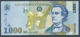 BILLET ROUMANIE / 1000 LEI / 1998 / 002B8714109 - Roumanie