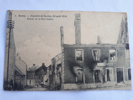 Sivry 5 -Exploits Des Boches, 24 Aout 1914 Entrée De La Rue Godart - Sivry-Rance