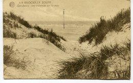 CPA - Carte Postale - Belgique - Knocke Le Zoute - Les Dunes - Une Éclaircie Sur La Mer - 1923 (M8193) - Knokke