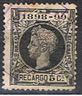 (E 588) ESPAÑA // YVERT 27 IMPOTS DE GUERRE  // EDIFIL 240 // 1898-99 - Impuestos De Guerra
