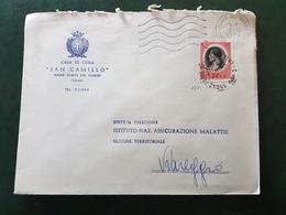(31910) STORIA POSTALE ITALIA 1974 - 6. 1946-.. Repubblica