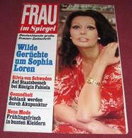 Sophia Loren  FRAU IM SPIEGEL - German March 1977 ULTRA RARE - Magazines & Newspapers