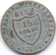 GORIZIA , 15 SOLDI 1802 F - Gorizia