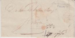 BELGIUM USED COVER 25 AOUT 1847 TERMONDE - 1830-1849 (Belgique Indépendante)