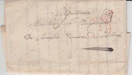 BELGIUM USED COVER 2 AVRIL 1841 JALHAY LIEGE VERVIERS - 1830-1849 (Independent Belgium)
