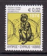 5.- CYPRUS 2019 REFUGEE STAMP - Chipre (República)