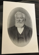 Portrait Picture Of Unkown Distinguished Gentleman, On Reverse Of Postcard Gloucester City Arms - Gloucester