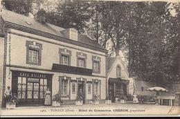 TUBOEUF Hôtel Du Commerce CHERON Propriétaire - Photo E Pasquis - France