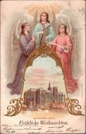 ! Alte Ansichtskarte Kathedrale Metz, Weihnachten, Engel, Angel - Metz