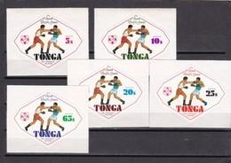 Tonga Nº 352 Al 356 - Tonga (1970-...)