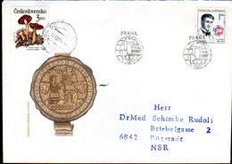 CZECHOSLOVAKIA 1989 International Student Day FDC   Michel 3024 - FDC