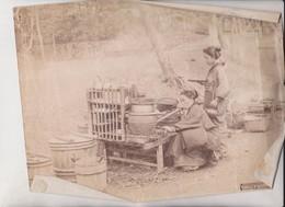 JAPON WAYSID RESTING PLACE ETAT  JAPAN  Asia Asie Fonds Victor FORBIN (1864-1947) - Lugares