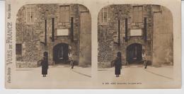 SU 009 / Photos Stéréoscopiques  - 50 - GRANVILLE - Le Pont Levis - Stereoscopic