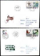 CZECHOSLOVAKIA 1989 Childrens Book Illustrations FDC   Michel 3013-16 - FDC
