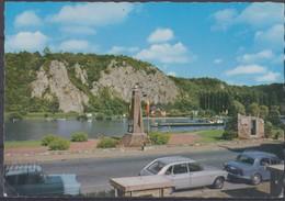 Wépion La Meuse Et Les Rochés Du Neviau. - Cartes Postales