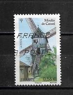 France 2010 Oblitéré N° 4486  -  Moulin De Cassel  à  0,56 € - 2010-.. Matasellados