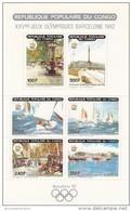Congo Nº Michel 1183 Al 1188 En Hoja - Verano 1992: Barcelona