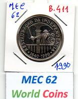 MEC 62 - / République Portugaise / Commémorative 100 Escudos 1990 / Restauraçao Da Indepedencia - PT -  B.411 - Portugal