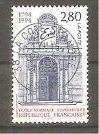 FRANCE 1994 Y T N ° 2907 Oblitéré - Francia