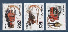Monaco - YT N° 2658 à 2660 - Neuf Sans Charnière - 2009 - Monaco