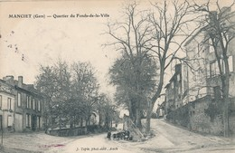 CPA - France - (32) Gers - Manciet - Quartier Du Fonds-de-la-Ville - France