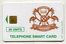 TK 04050 UGANDA - Chip 150 000 Ex. - Uganda