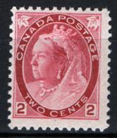 Canada 1898 Y.T.65 MNH/** VF/F - 1851-1902 Regno Di Victoria