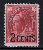 Canada 1899 Y.T.76 MNH/** VF/F - 1851-1902 Regno Di Victoria
