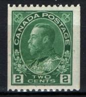 Canada 1913 Y.T.109bA MNH/** VF/F - Nuovi