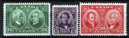 Canada 1927 Y.T.126/28 MNH/** VF/F - Nuovi
