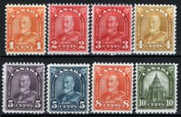 Canada 1930 Y.T.140,143,146/48,150/51 MNH/** VF/F - Nuovi