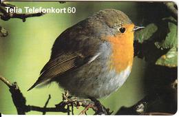 SWEDEN(chip) - Bird, 12/97, Used - Pájaros
