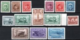 Canada 1943 Y.T.205/18 MNH/** VF/F - 1937-1952 Regno Di George VI